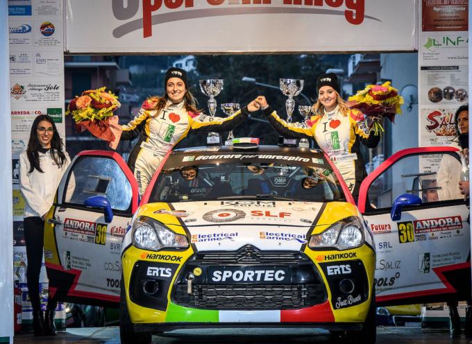 Pronta anche per il Campionato Italiano Rally (CIR)