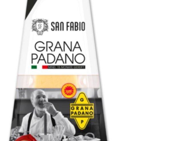 """Pasta di legno nel formaggio grattugiato. I supermercati Penny richiamano il """"San Fabio Grana Padano, grattugiato, 150 g"""" dagli scaffali."""