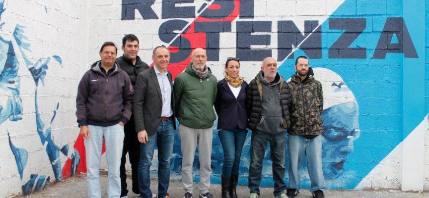 Allo stadio di Marlia i murales dei campioni