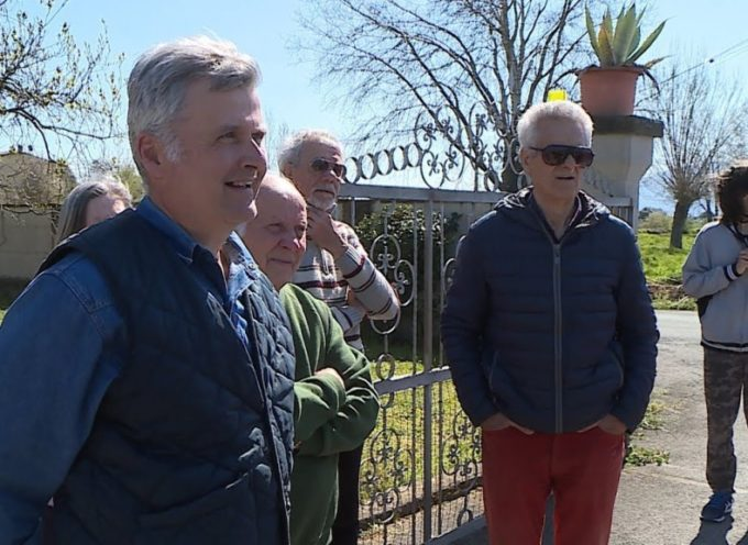 S. Pietro a Vico, dove l'asse nord-sud ti passa in giardino