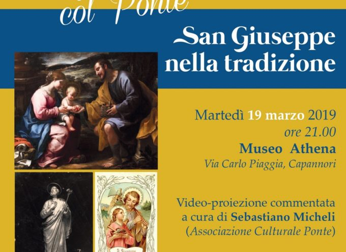 ARTEDI' 19 MARZO AD ATHENA  LA PROIEZIONE 'SAN GIUSEPPE NELLA TRADIZIONE'