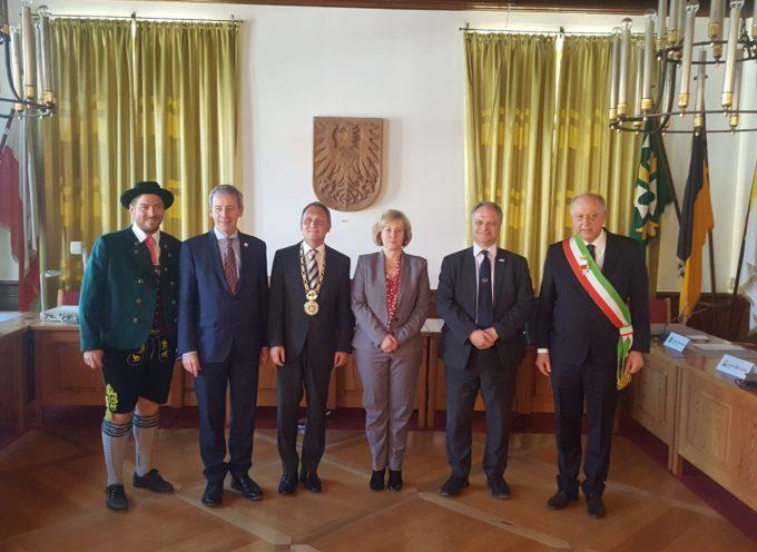 Europa dei popoli, Europa unita: il documento che il sindaco Tambellini ha presentato a Schongau agli altri sindaci delle città gemelle