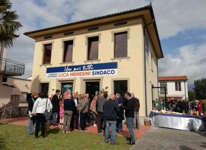 Inaugurata la sede elettorale di Menesini