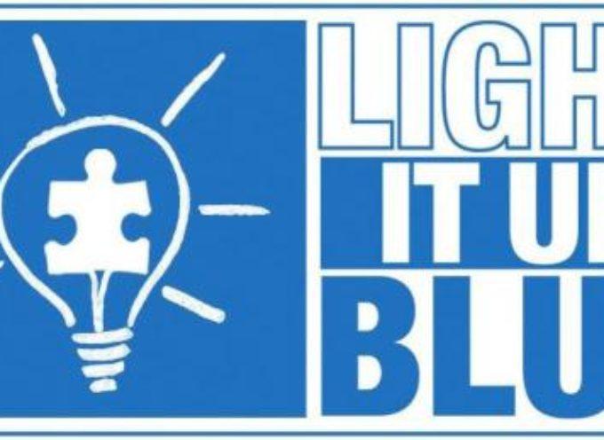 Giornata mondiale della consapevolezza dell'autismo: si illumina di blu Porta Elisa