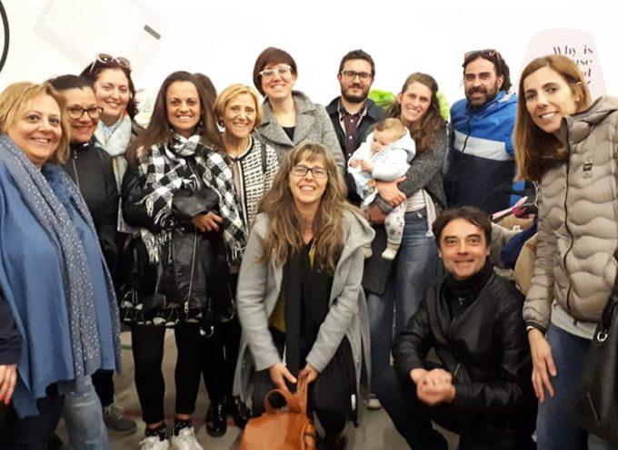 Una delegazione del Comune di Campi Bisenzio in visita a Capannori