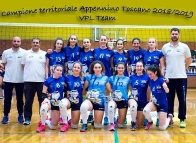 Volley Seravezza: VPL Team Under 18, Campionesse Territoriali dell´Appenino Toscano per il secondo anno consecutivo