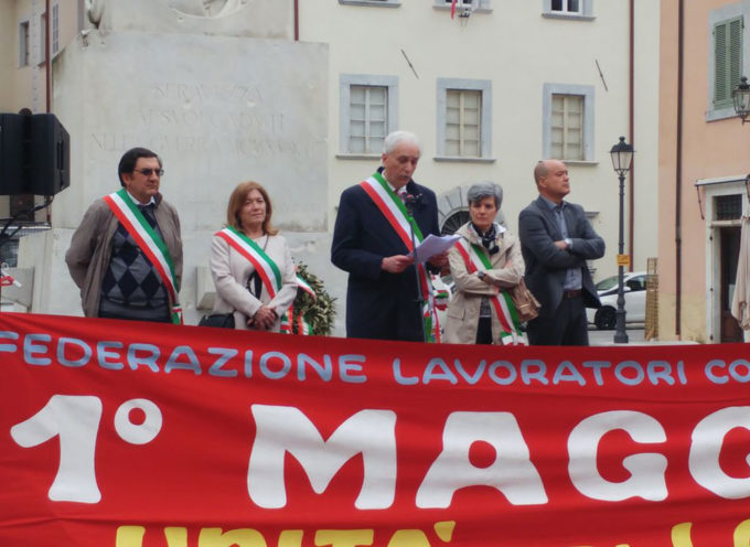 SERAVEZZA – Primo Maggio: l'Europa, il lavoro, i diritti, lo stato sociale sono i temi della Festa dei Lavoratori