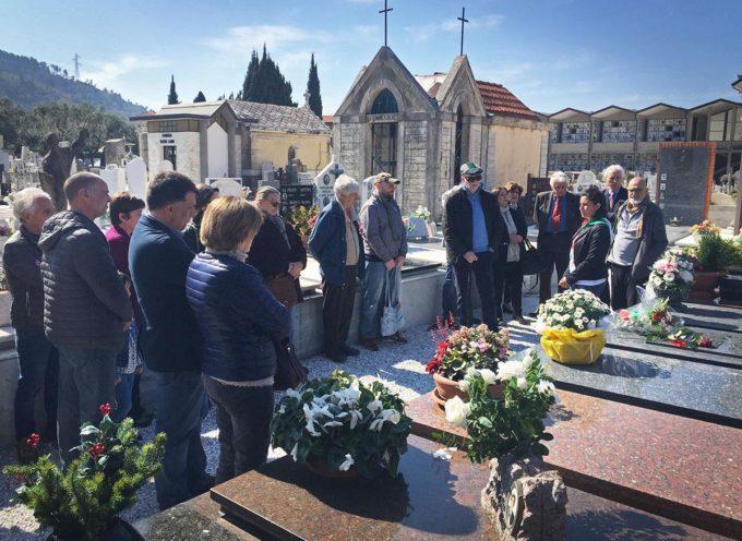 IL PERCORSO DELLA MEMORIA: RICORDATO  IERI A RIPA E VALLECCHIA IL PARTIGIANO MORENO COSTA