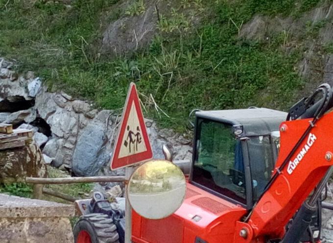 LA SCOGLIERA DEL CANALE DELLE RAVE STA PER ESSERE RISISTEMATA
