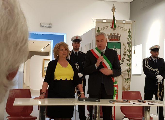 La città di Viareggio ringrazia il Prefetto Maria Laura Simonetti