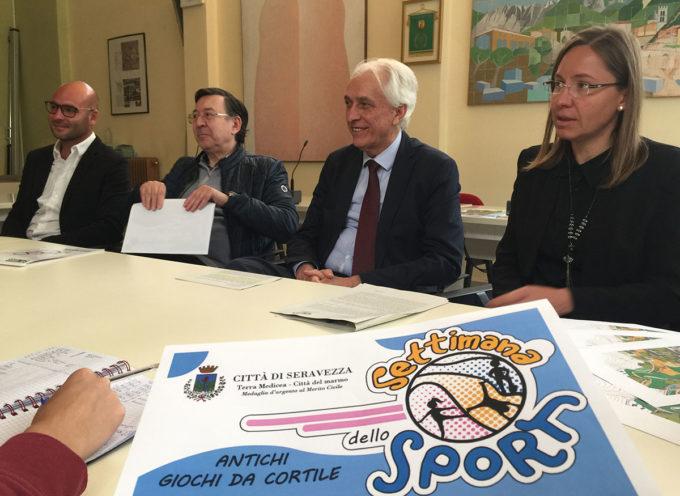 Sport: dal 13 al 17 maggio la Settimana dello Sport per alunni e studenti delle scuole seravezzine