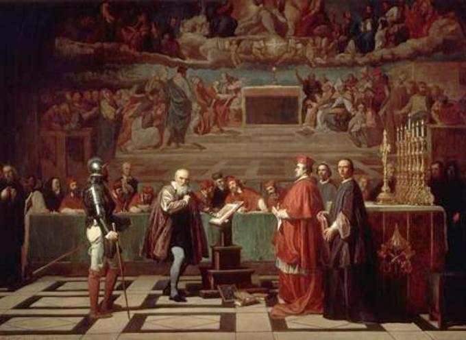 accadde oggi 12 aprile 1633, inizia a Roma il processo a Galileo Galilei,