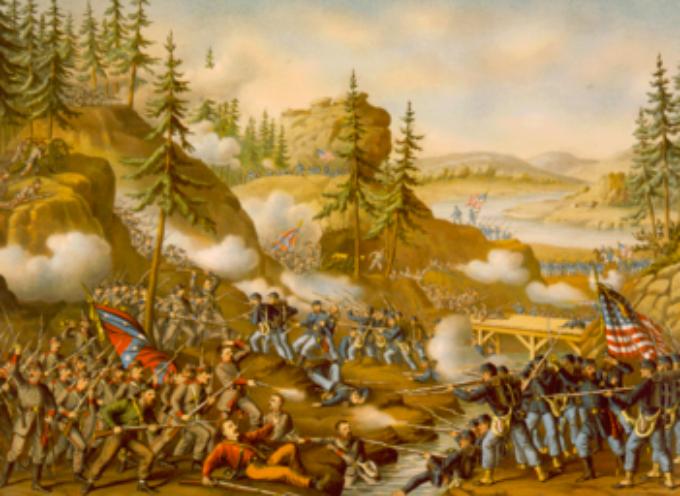 ACCADDE OGGI – 9 aprile 1865 .  il generale Lee, comandante in capo dell'esercito della Confederazione del Sud, firma l'atto di resa al generale Grant: