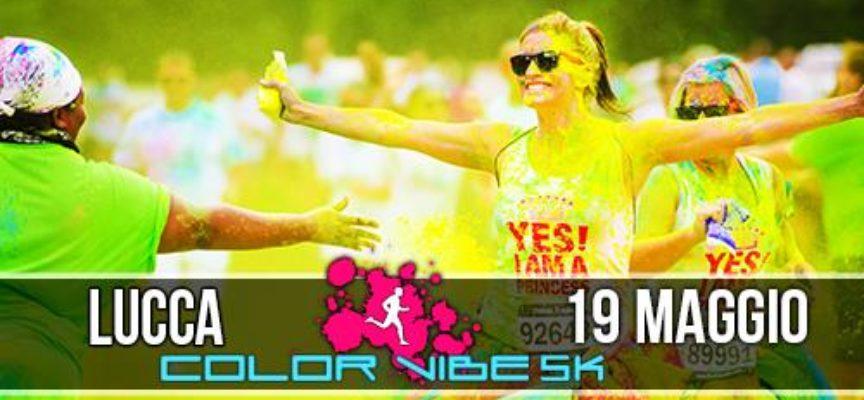 Lucca ospiterà la quarta edizione della Color Vibe, l'evento più colorato e divertente della Toscana!