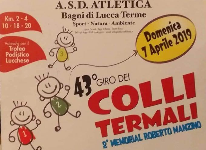 Giro dei Colli Termali 43ª edizione, A   Bagni di Lucca.