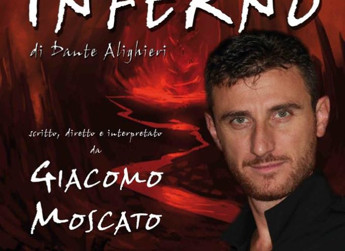 """al Teatro Comunale """"Idelfonso Nieri"""" di Ponte a Moriano, andrà in scena  """"INFERNO""""."""