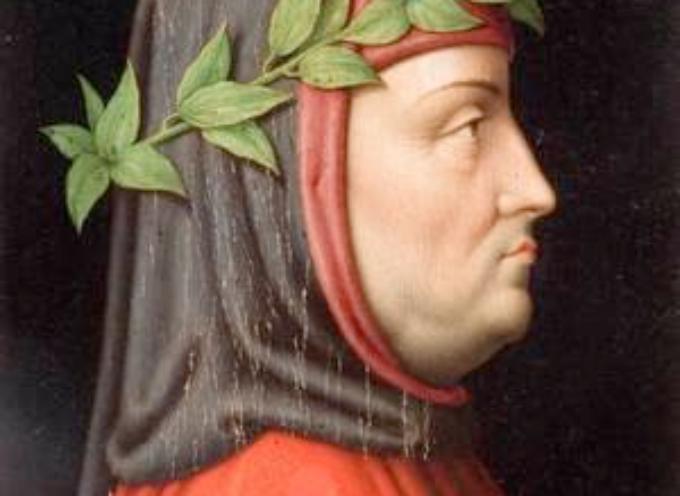 "accadde oggi  – 8 aprile 1341. Francesco Petrarca riceve la ""corona poetica"" sul Campidoglio."