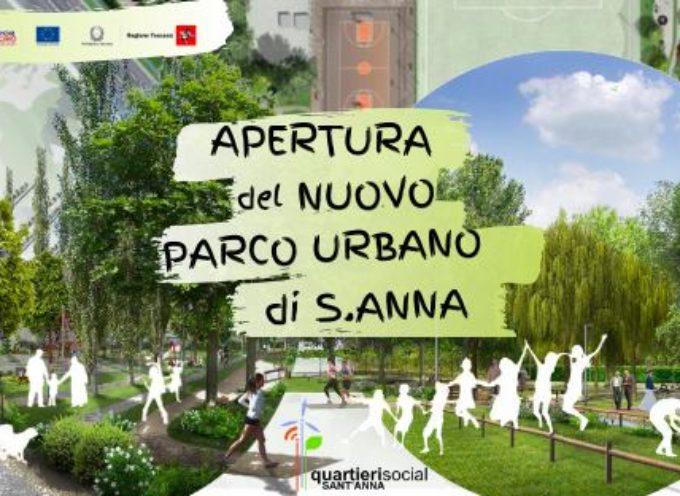 APERTURA NUOVO PARCO URBANO DI SANT'ANNA