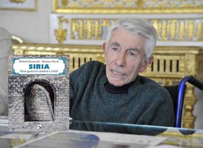 """all'Auditorium San Romano, a Lucca, sara' presentato  il libro di Massimo Toschi e Michele Zanzucchi """"Siria, una guerra contro i civili"""""""