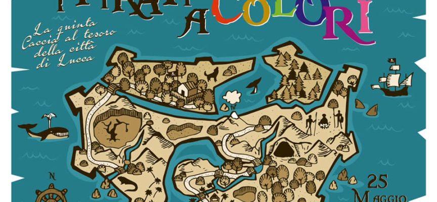 lucca – Caccia al tesoro | I pirati a colori