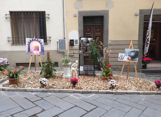 STAMANI INAUGURATA LA MOSTRA DI MYFLOWER 2019 a Borgo a Mozzano.