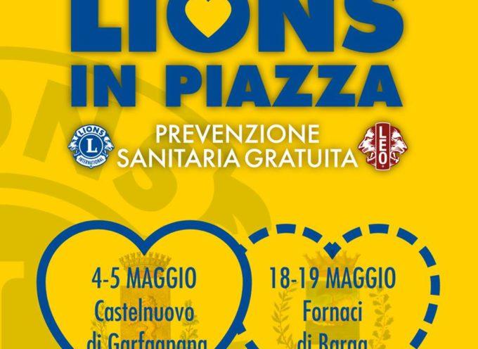 Lions in Piazza per la prevenzione sanitaria