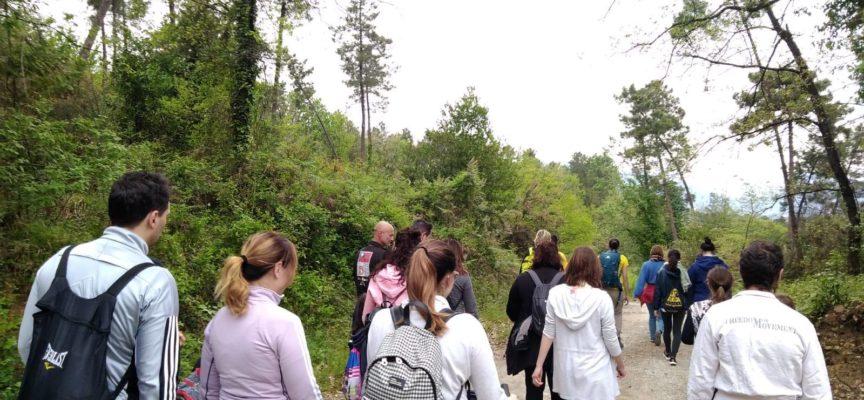iniziato alla grande la stagione delle camminate per le colline di Montecarlo.
