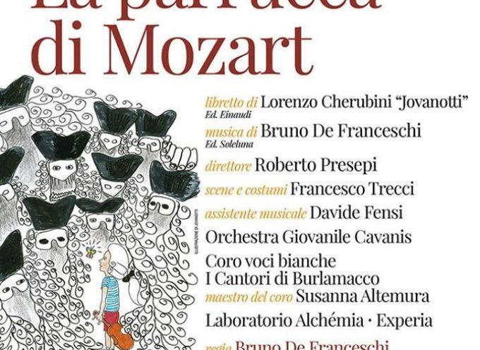 AL TEATRO DEL GIGLIO STASERA VA IN SCENA LA PARRUCCA DI MOZART