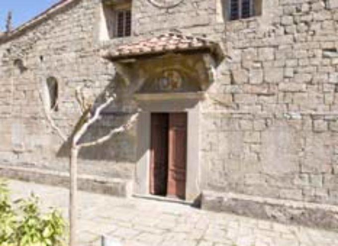 Chiesa dei Santi Iacopo e Ginese  A Boveglio, Villa Basilica