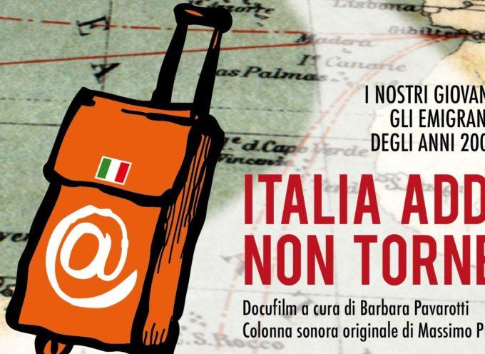 """""""Italia addio non tornerò"""" presentato al Lucca Film Festival"""