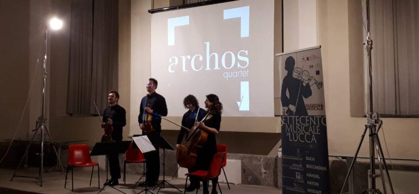 Grande emozione per la musica degli Archos Quartet