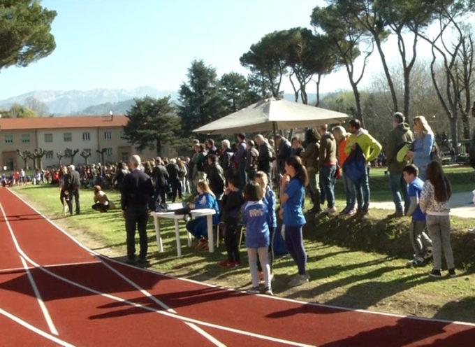 Una domenica speciale al Campone con i giovani dell'atletica provinciale