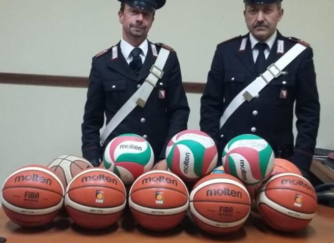 PORCARI  – Ricettazione di palloni da basket, denunciato un ragazzino di 14 anni
