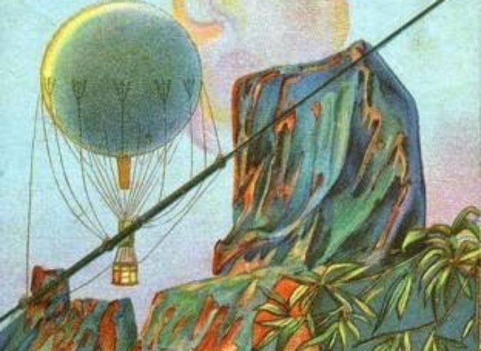 Quando dalla Versilia per raggiungere le Alpi Apuane si usava la mongolfiera