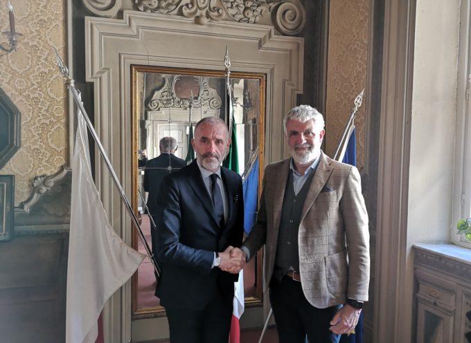 Il nuovo questore Dalle Mura accolto a Palazzo Santini, sede del Consiglio comunale