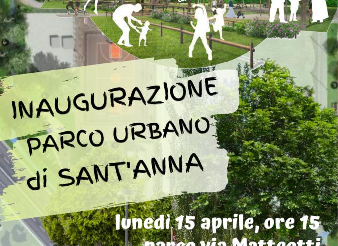 apre il Parco di Sant'Anna, area a verde e sportiva