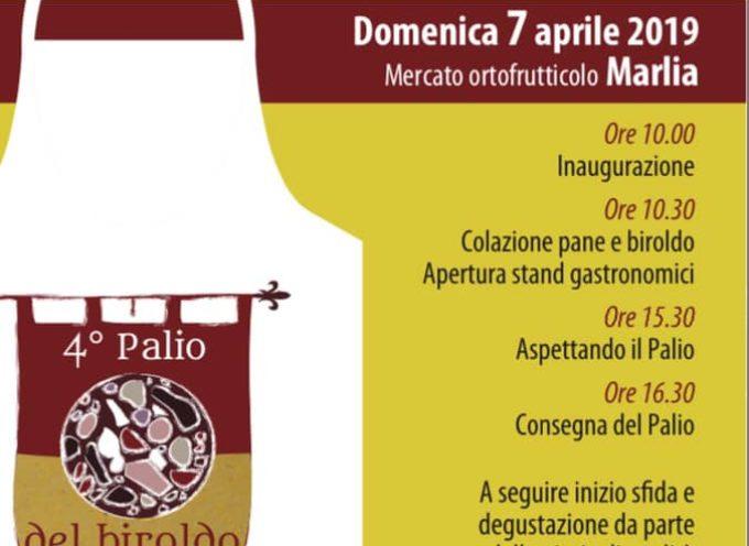 DOMENICA 7 APRILE AL MERCATO DI MARLIA SI SVOLGERA' IL '4° PALIO DEL BIROLDO'