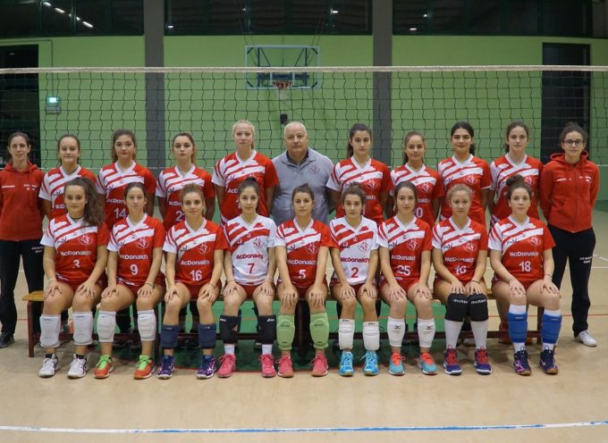 PALLAVOLO UNDER 17 F nel tour de force la Polisportiva Volley Capannori batte al quinto set il Volley Appennino Pistoiese