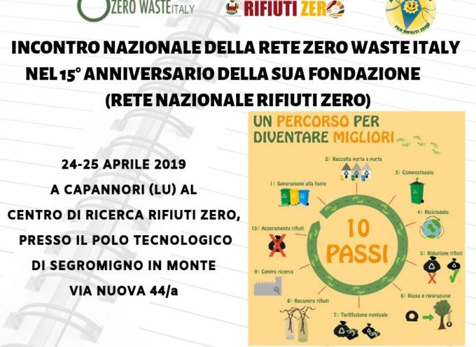 A CAPANNORI L'INCONTRO NAZIONALE DELLA RETE ZERO WASTE ITALY