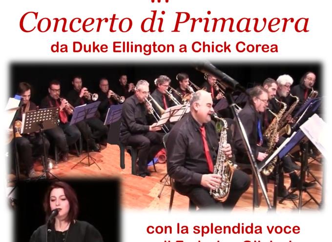 """VILLA BERTELLI – """"Concerto di primavera"""" da Duke Ellington a Chic Corea  con la """"Versilia Big Band"""""""