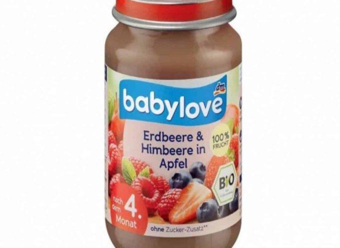 Non consumate questi purè di frutta omogeneizzati per bambini. Marca e lotti con Tracce di Aflatossine