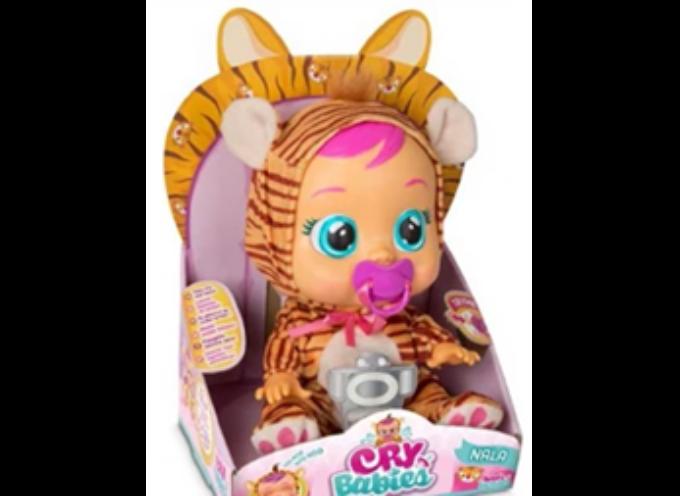 Contiene le sostanze tossiche ftalati, ritirata la bambola Cry Babies – Nala Tigrotto.
