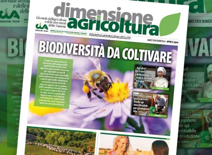 Biodiversità da coltivare. È uscito Dimensione Agricoltura di aprile 2019