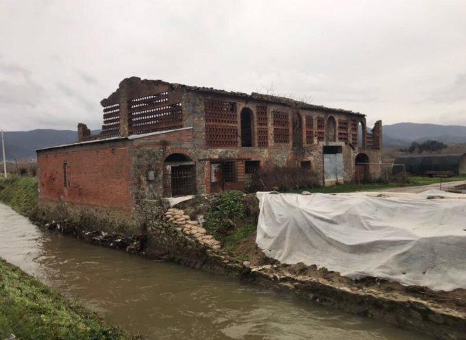 PORCARI – Sbloccate le risorse per la ricostruzione del muro crollato in Corte Andreotti