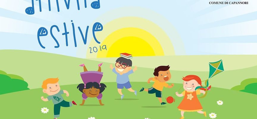 CAPANNORI – Anche per l'estate 2019 tornano le attività estive per bambini e ragazzi.