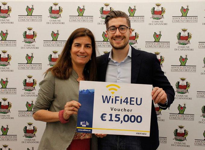 Wi-fi gratuito, Capannori vince bando europeo