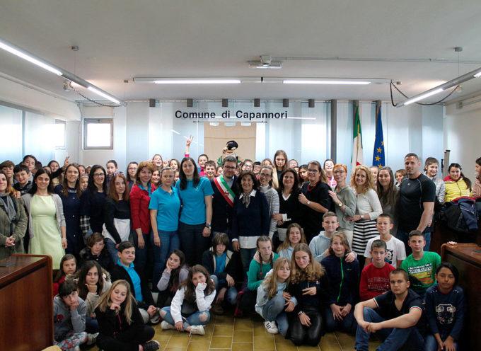 Alunni di cinque Paesi in visita a Capannori per il progetto Erasmus