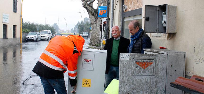 a Lammari: iniziati i lavori di potenziamento dell'impianto semaforico