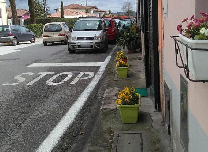 Bivio fra via di Liso e via Lombarda a Lammari, l'area sarà riqualificata e resa più sicura
