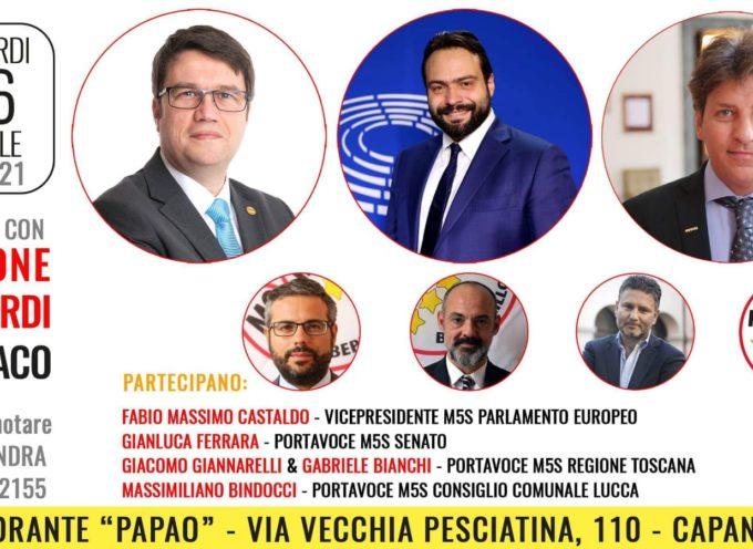 SOSTEGNO EUROPEO A SIMONE LUNARDI CANDIDATO SINDACO PER CAPANNORI.